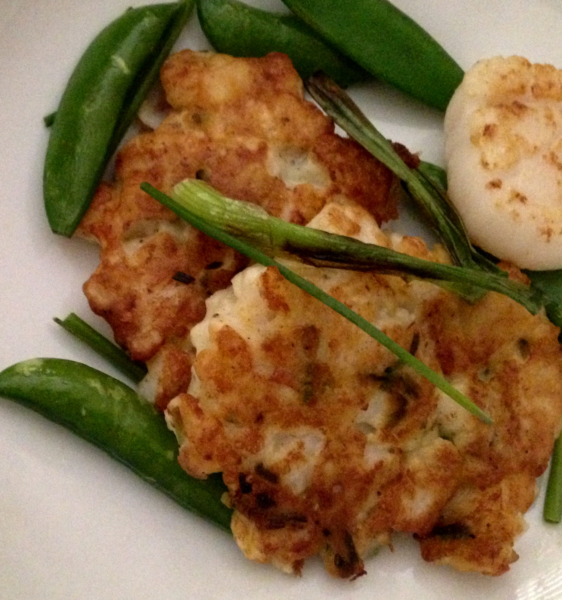 Blog: Scallop Fritters Spa Cuisine Style