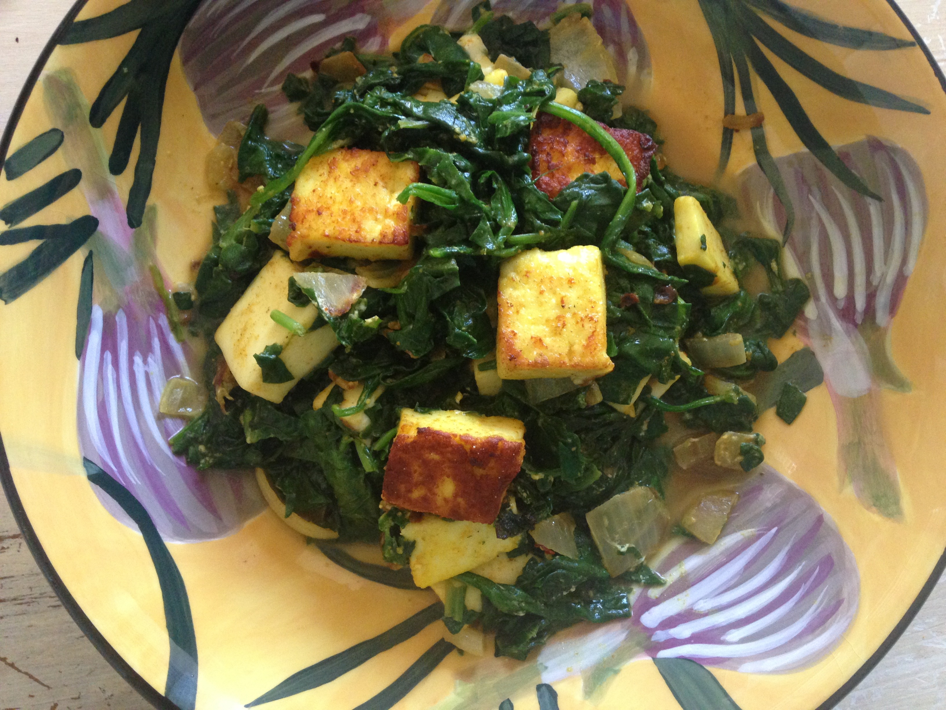 BLOG: Spinach + Paneer